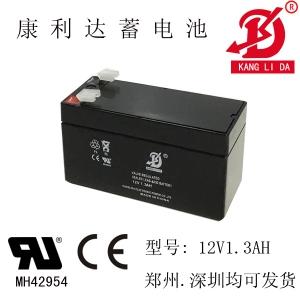 12v1.3ah防火卷帘门控制器电池 12v铅酸蓄电池