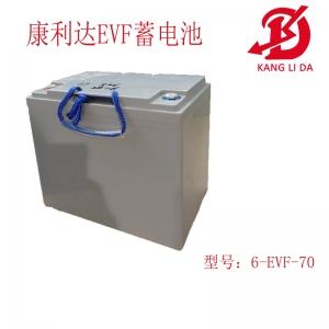 老年车电池专用6-EVF70蓄电池