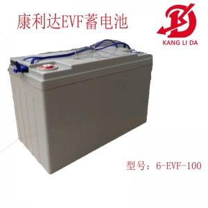 扫地机专用6-EVF-100蓄电池