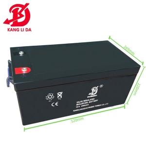 太阳能发电系统专用康利达12V260AH蓄电池