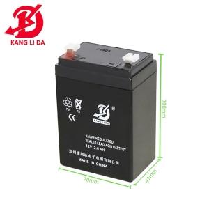 电梯应急系统用12v2.6ah蓄电池 12v警示灯电瓶